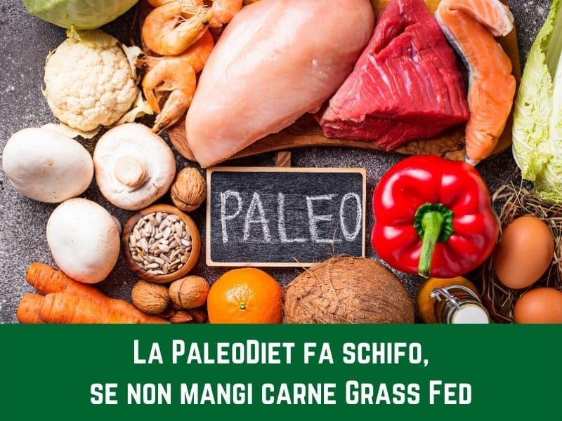 La Paleodieta fa schifo, se non mangi carne Grass Fed